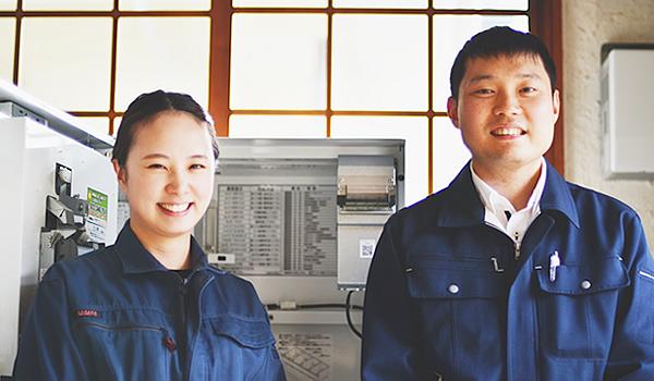 カスタマーサポート事業部 大槻・戸塚